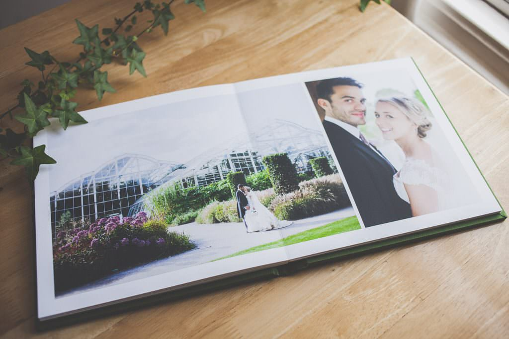 wedding photo album - eva photography