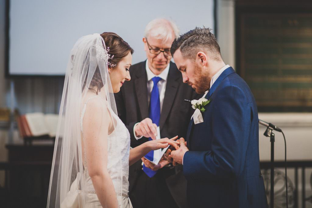 St James's Church wedding