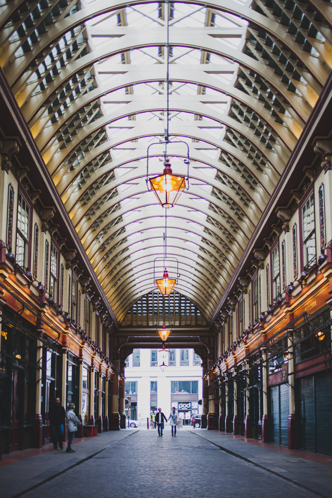 Leadenhall Market engagement shoot