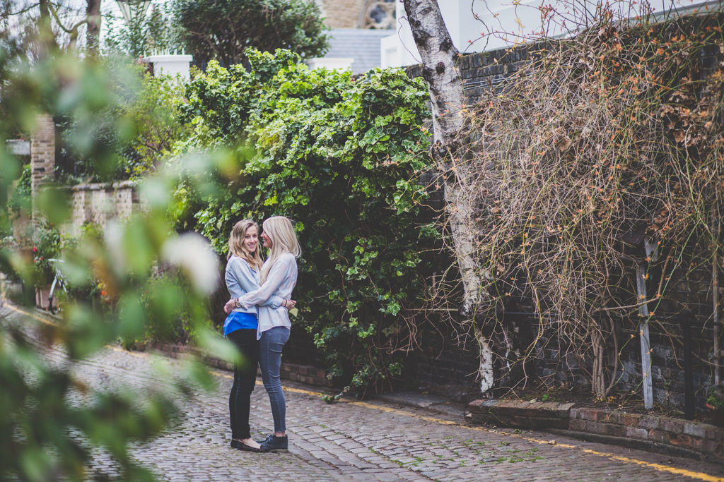 South Kensington engagement shoot