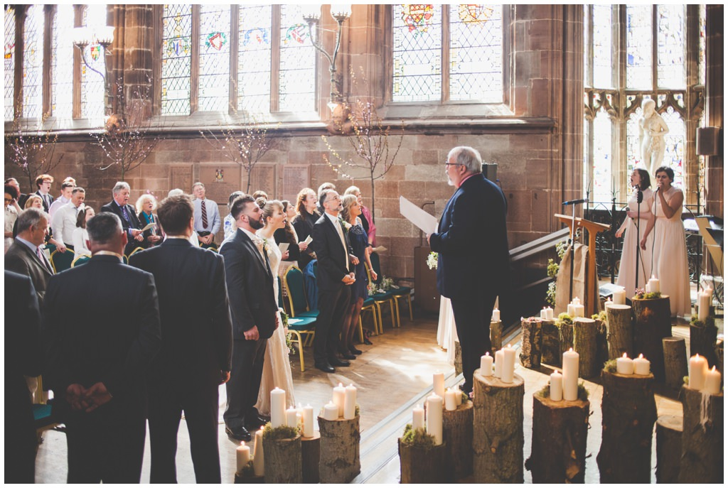 St. Mary's GuildHall Coventry wedding