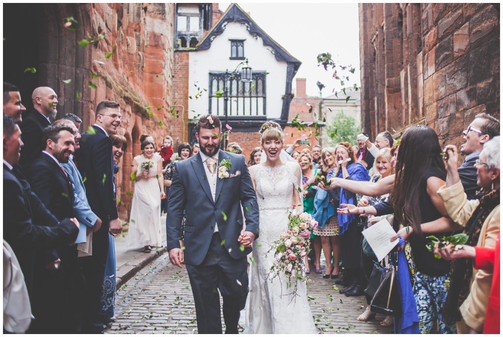 St. Mary's GuildHall wedding