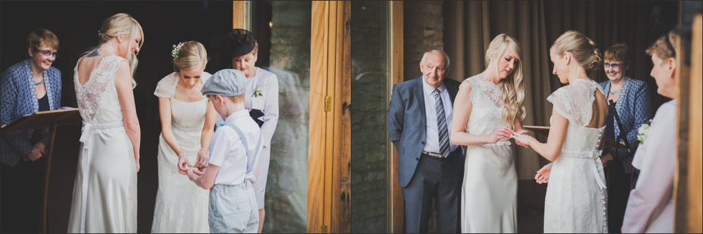 Alternative wedding photographer - same sex wedding oxford