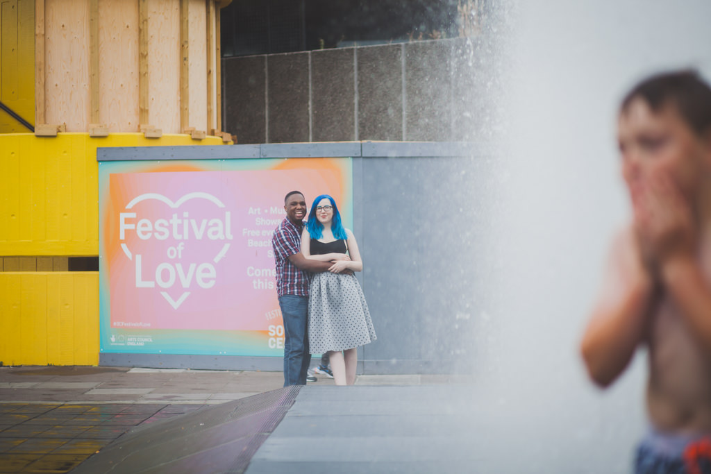 South Bank engagement shoot