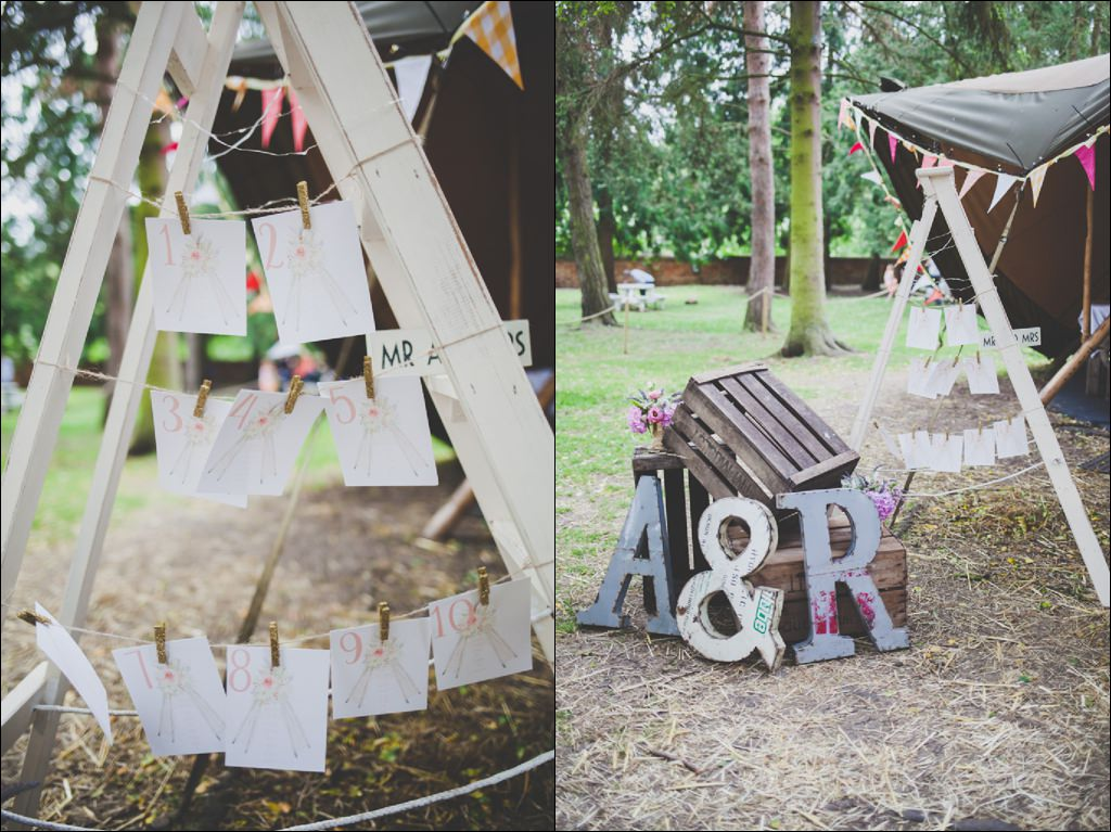 Alternative wedding photographer - Oxford tipi wedding inspiration