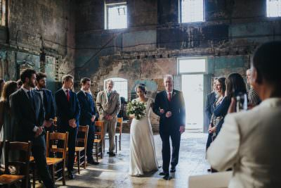 Asylum Chapel wedding, alternative wedding photography