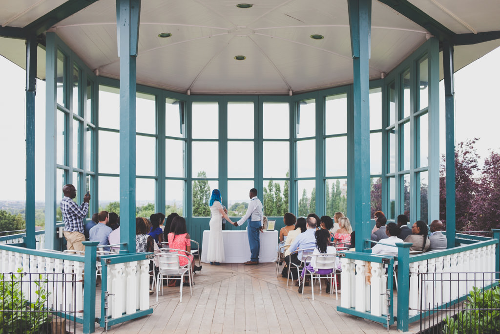 Horniman Gardens bandstand wedding London