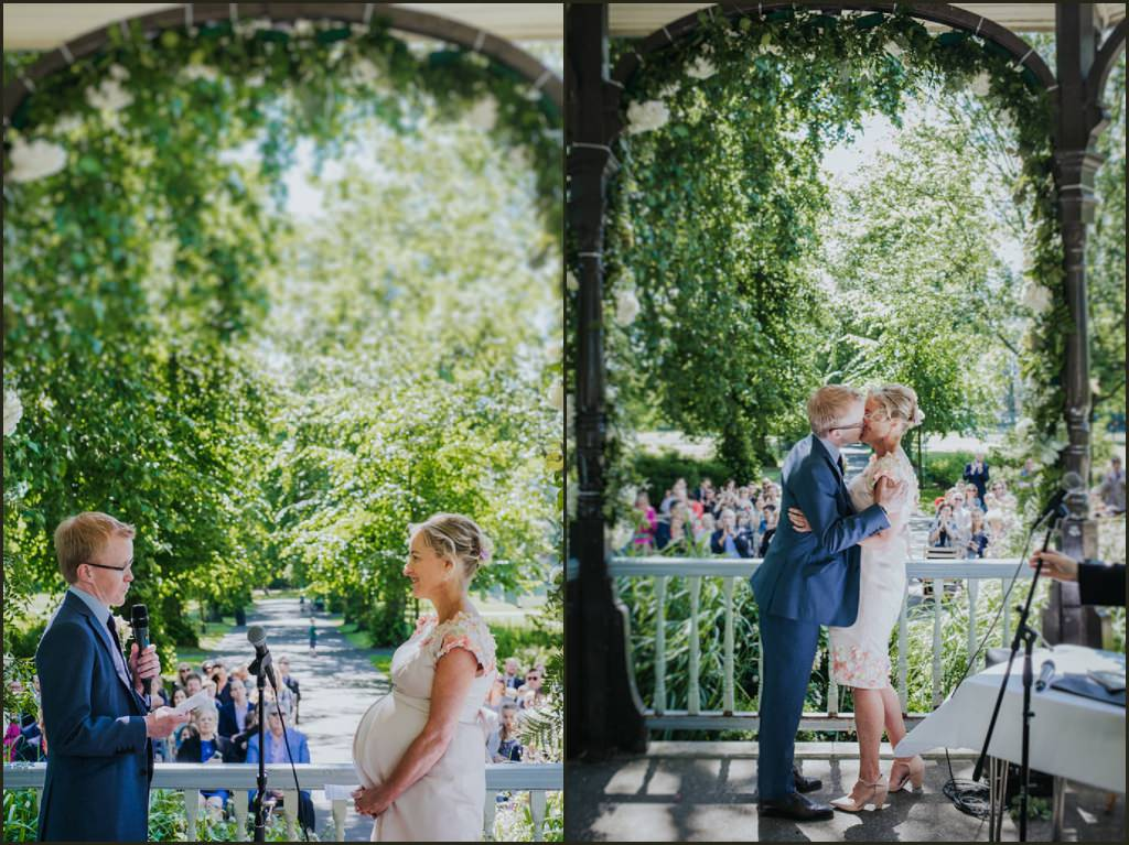 alternative wedding photographer, alternative wedding photographer london, wedding photographer london, relaxed wedding photographer london, london park wedding, band stand wedding london