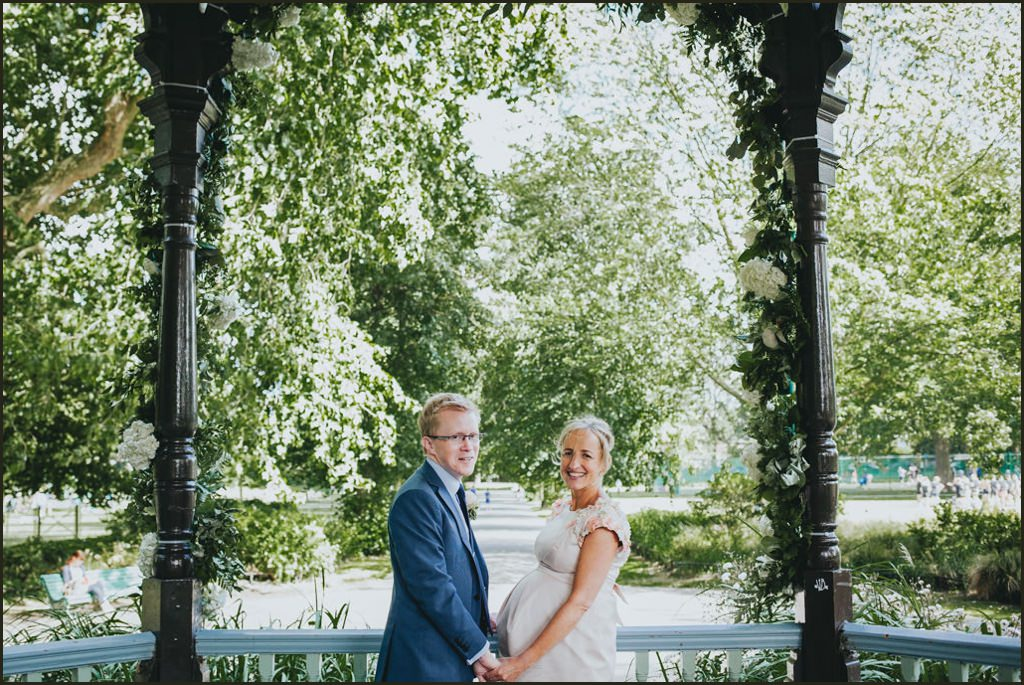 garden wedding, myatts park wedding, park wedding london, alternative wedding london