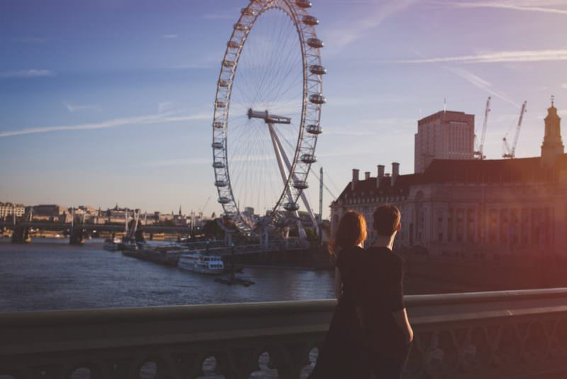 London couple shoot - alternative wedding photographer london - eva photography
