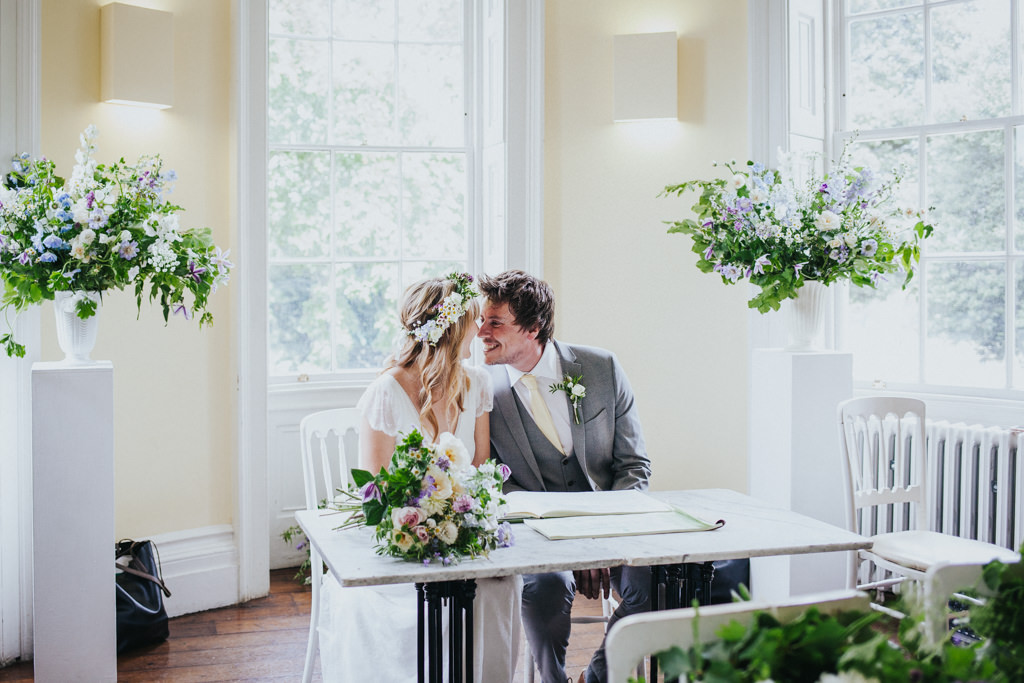 Boho Clissold Stoke Newington Hackney wedding, Clissold House wedding