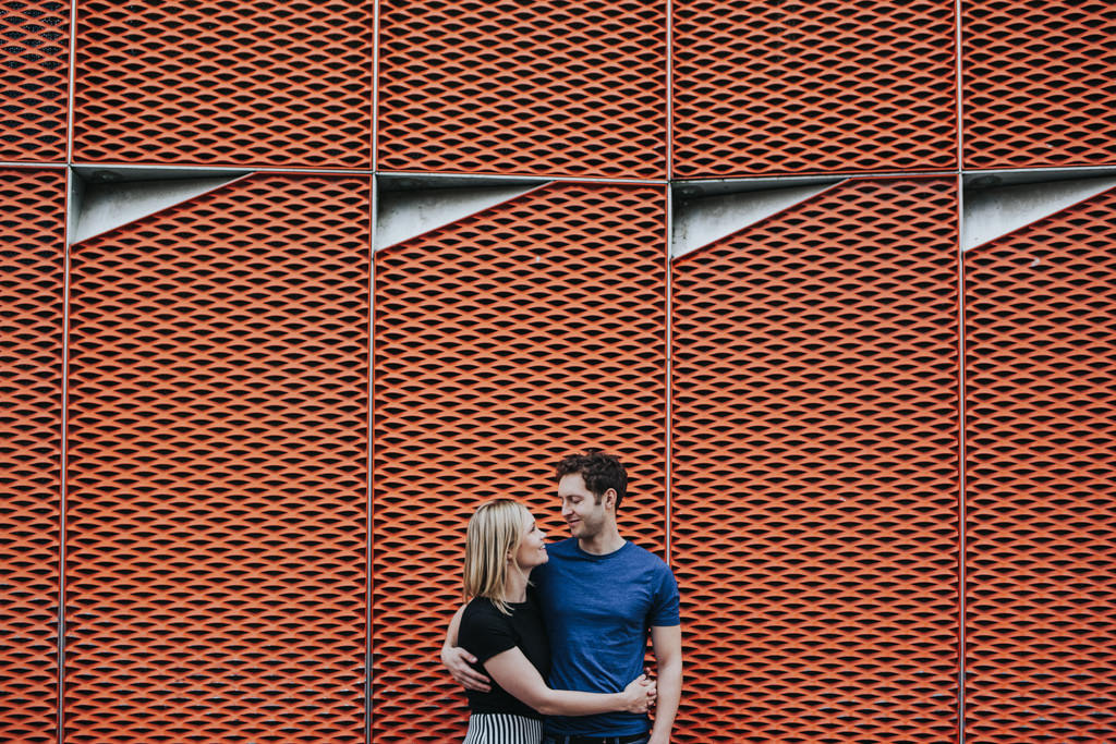 Engagement shoot in hackney wick