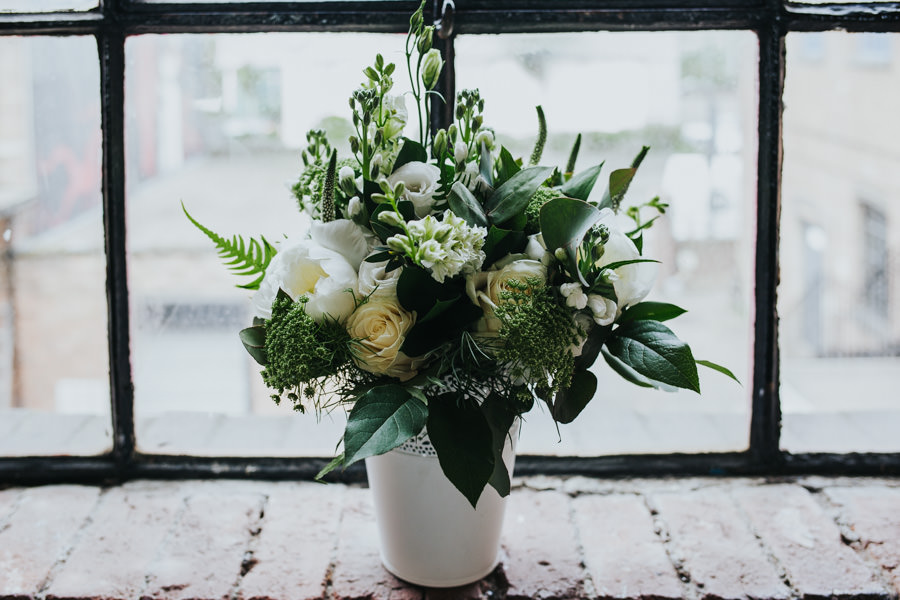 Loft Studios wedding- Flower Arranger