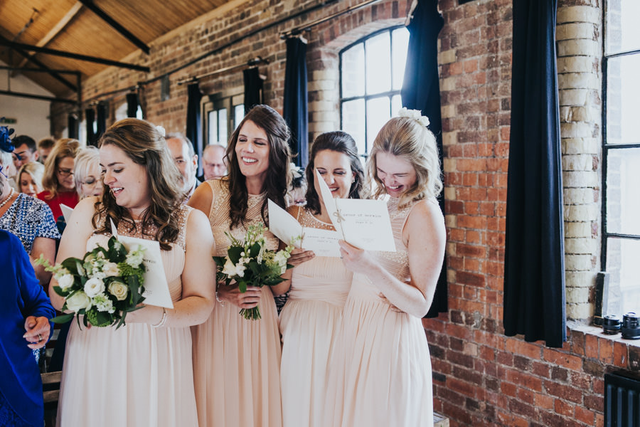 Loft Studios wedding, humanist wedding with Zena Birch