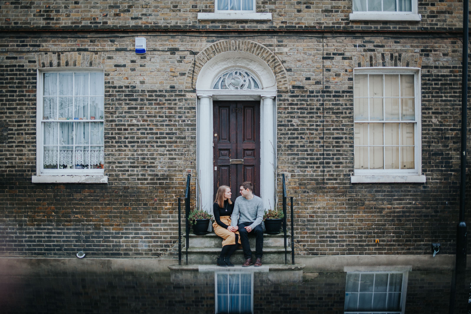 Hackney engagement shoot, Broadway Market engagement shoot