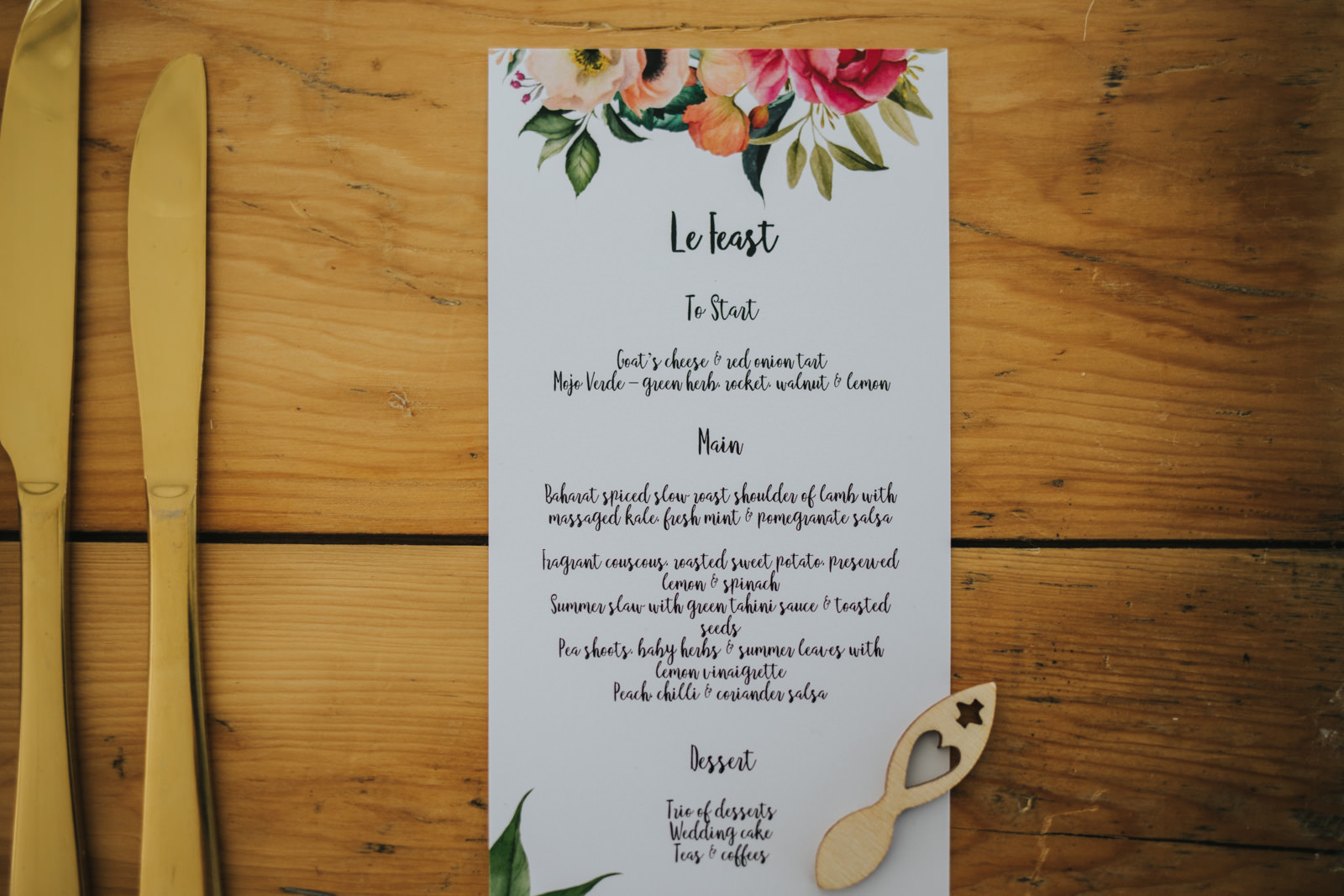 Stationery at the Wimbourne House wedding
